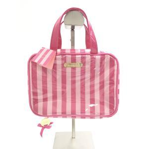 VICTORIA'S SECRET(ヴィクトリアシークレット)ハンガー付トラベルポーチ ピンク レディース 新品 wanboo