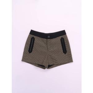 rag&bone(ラグ&ボーン)デザインショートパンツ 黄 黒 メンズ Aランク 0|wanboo