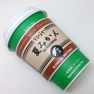 ミドルクラス フレーバー椀茶シリーズ おちゃらか椀茶 夏みかん MD10081−おちゃらか−【1ケース(24個)】|wancha