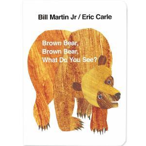 エリックカール Brown Bear ボードブック 英語 絵本 Brown Bear,Brown B...
