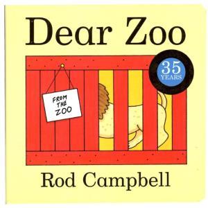 絵本 しかけ絵本 Dear Zoo 赤ちゃん 幼児 ファーストブック 動物