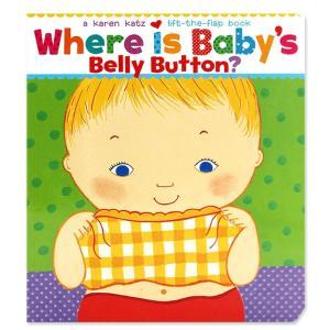 英語 しかけ絵本 Where Is Baby's Belly Button? 赤ちゃん ファーストブック プレゼント