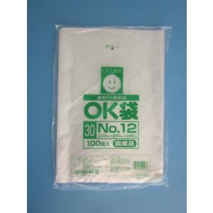 OK袋 0.03mm No.12 1,000枚箱入(100枚×10袋)