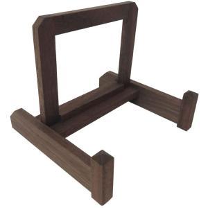 皿立て 皿たて 大皿用 木製   (直径65cm〜75cmの皿向け/70サイズ)家具屋さんの皿立て|wanizou