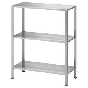 【IKEA】HYLLIS/ヒュッリス シェルフユニット 室内/屋外用60x27x74 cmの画像