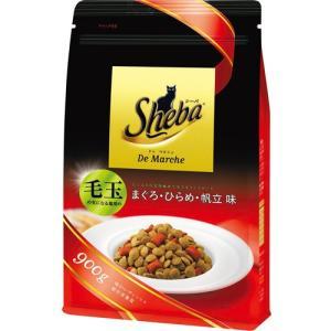 シーバドゥマルシェ 毛玉の気になる猫用 味わいディッシュ まぐろ・ひらめ・帆立味 900g