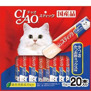 チャオ スティック かつお かつお節ミックス味 15g×20本