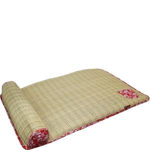 ひんやり、さらり。通気性がよく、熱がこもりにくい。 頭をのせてくつろげる、おねこ様枕付き。 底面にす...