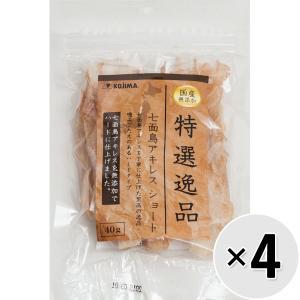 【セット販売】特選逸品 七面鳥アキレス ショート 40g×4コ|wannyan-ya