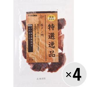 【セット販売】特選逸品 豚タン肉 25g×4コ|wannyan-ya
