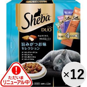 【ケース販売】シーバデュオ 旨みがつお味セレクション 240g×12コ|wannyan-ya