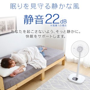 扇風機 リモコン式リビング扇 DCモーター式 ハイタイプ ホワイト LFD-306H アイリスオーヤマ リモコン シンプル 簡単操作 タイマー|wannyan|09