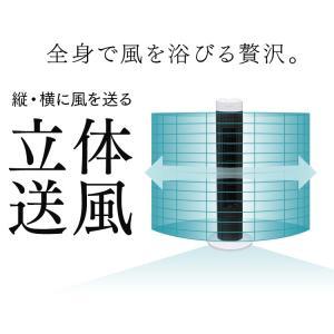 扇風機 タワー型 スリム おしゃれ タワーファン メカ式 ホワイト TWF-M73 アイリスオーヤマ wannyan 06