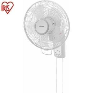 扇風機 壁掛け扇 メカ式  ホワイト WFM-306 アイリスオーヤマ|wannyan