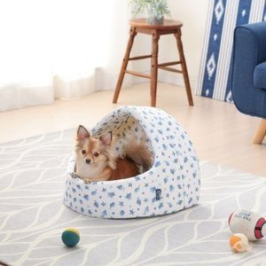 ペットベッド ペット ベッド 犬用ベッド 猫用ベッド 春夏 ペット用クールドームベッド PCDB19M ホワイト/ブルー アイリスオーヤマ あすつく|wannyan|12