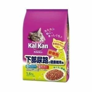 カルカンドライ 下部尿路の健康維持用 まぐろと野菜味 1.6kg マースジャパン 猫 キャットフード ペットフード 成猫 アダルト wannyan