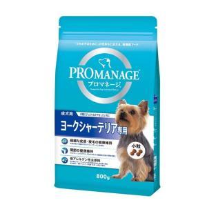 プロマネージ 成犬用 ヨークシャーテリア専用 800g マースジャパン|wannyan