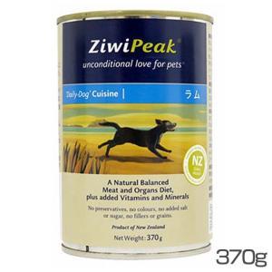 ZiwiPeak(ジウィピーク) ドッグ缶 ラム 370g