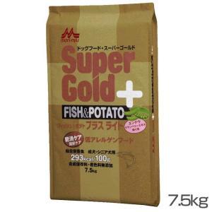 森乳サンワールド スーパーゴールド フィッシュ&ポテト プラスライト 肥満・関節ケア用 7.5kg