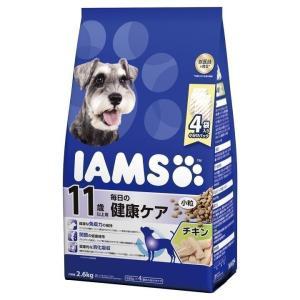 アイムス 11歳以上用 毎日の健康ケア チキン 小粒 2.6kg ID241 マースジャパンリミテッド フード 犬用 犬 ごはん エサ カリカリ|wannyan