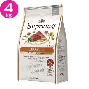 ニュートロ シュプレモ 超小型〜小型 成犬用 牧場のレシピ ビーフ 4kg NS208 マースジャパンリミテッド (D)|wannyan