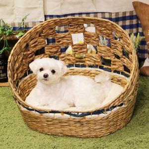 最終売り尽くし/ ペットべッド 夏用 犬ベッド 猫ベッド 犬用ベッド 猫用ベッド アジアンベッド マーレプリ―ト ドーム犬用 ドギーマン (D)|wannyan|02
