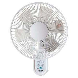 扇風機  壁掛けフルリモコン扇風機 ホワイト KI-W280R TEKNOS (D)(B) wannyan