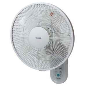 扇風機  壁掛けフルリモコンDC扇風機 ホワイト KI-DC335 TEKNOS (D)(B) wannyan