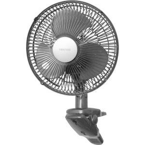 扇風機  クリップ扇風機 ブラック CI-237 TEKNOS (D)|wannyan