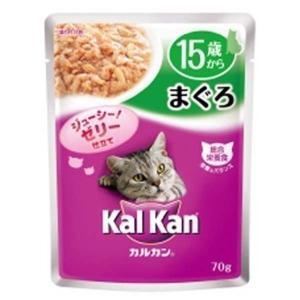 カルカン ウィスカス 15歳まぐろ 70g KWP52(D)(LP)キャットフード 猫用 フード 猫 wannyan