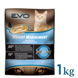 イノーバエボ エボ EVO ウェイトマネジメントキャットフード 1kg(TC)