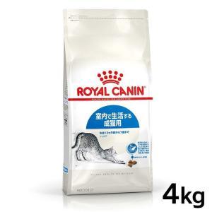[正規品]ロイヤルカナン 猫用 キャット インドア 4kg 室内猫・成猫用キャットフード 猫用 フード 猫 wannyan