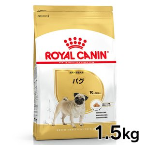 ●対象犬種:パグ向け ●対象年齢:生後10ヵ月齢以上 ●内容量:1.5kg ●原材料:米、家禽*ミー...