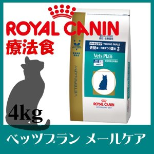 (療法食)(猫)ロイヤルカナンベッツプランメールケア4kgキャットフード 猫用 フード 食事療法 猫