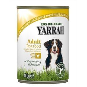 ヤラー YARRAH ドッグディナー チキンパテ 400g(AA)(TC) ドッグフード フード 犬用 犬|wannyan