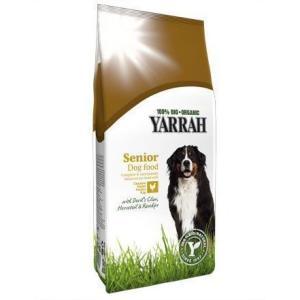ヤラー YARRAH オーガニック ドッグフード シニア 高齢犬 600g(AA)(TC)|wannyan
