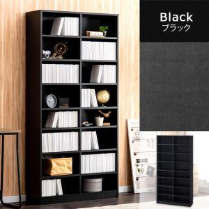本棚 おしゃれ 大容量 コミックラック 大容量タイプ CORK-1890 ブラック ホワイト アッシュブラウン ウォールナット オフホワイト アイリスオーヤマ|wannyan|13