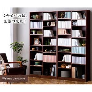 本棚 おしゃれ 大容量 コミックラック 大容量タイプ CORK-1890 ブラック ホワイト アッシュブラウン ウォールナット オフホワイト アイリスオーヤマ|wannyan|05
