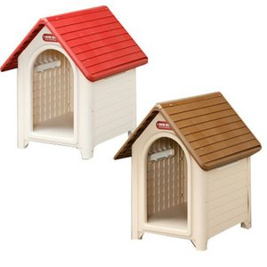 犬小屋 ドッグハウス 室外 屋外 防寒 犬舎 中型犬 おしゃれな犬小屋 プラ プラスチック製 さびない ボブハウスM おしゃれ かわいい アイリスオーヤマ|wannyan|02