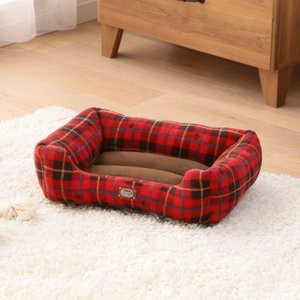 犬 猫 ベッド ペット あったかソファベッド 角型 Sサイズ PSKI450 アイリスオーヤマ 秋冬 おしゃれ かわいい チェック かわいい おしゃれ あすつく|wannyan|03