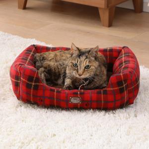 犬 猫 ベッド ペット あったかソファベッド 角型 Sサイズ PSKI450 アイリスオーヤマ 秋冬 おしゃれ かわいい チェック かわいい おしゃれ あすつく|wannyan|04