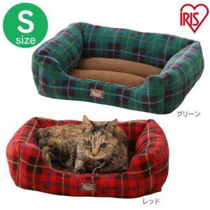 犬 猫 ベッド ペット あったかソファベッド 角型 Sサイズ PSKI450 アイリスオーヤマ 秋冬 おしゃれ かわいい チェック かわいい おしゃれ あすつく|wannyan|05