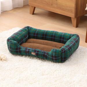 犬 猫 ベッド ペット あったかソファベッド 角型 Mサイズ PSKI530 アイリスオーヤマ 秋冬 おしゃれ かわいい チェック かわいい おしゃれ|wannyan|04