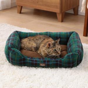 犬 猫 ベッド ペット あったかソファベッド 角型 Mサイズ PSKI530 アイリスオーヤマ 秋冬 おしゃれ かわいい チェック かわいい おしゃれ|wannyan|05