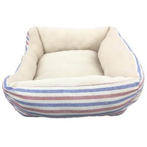ペットべッド 夏用 犬ベッド 猫ベッド 犬用ベッド 猫用ベッド PPボーダーベッド パピー(D)|wannyan|03