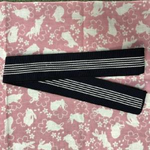 旅館浴衣用丹前帯織帯