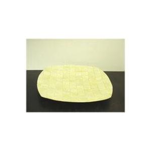 モザイク カピス貝のトレイ(L)[ホワイト/ゴールド/ピンク/グリーン]アジアン バリ 雑貨 お皿 トレイ ペントレイ/カピス貝 アジアン雑貨(トレー|wanon333