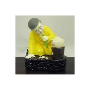 火吹き竹の小僧香炉アジアン バリ 香炉に合うアジアン 雑貨 香炉 仏具 (お香立て/お香)香炉 中国 インセンスホルダー 香炉 インドネシア アジアン|wanon333