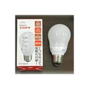 電球型蛍光灯 40W E26 電球色電球型蛍光灯 電球色 e26 40W省エネ 電球 電球型蛍光灯40W オーム電機 照明 家具 照明器具 ライト wanon333