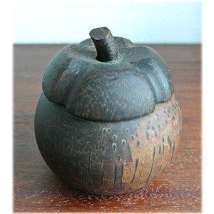 マンゴスチンの小物入れハワイアン雑貨 果物 かわいい お洒落なジュエリーボックス 木製 アクセサリー 収納アクセサリーボックス インテリア小物 置|wanon333